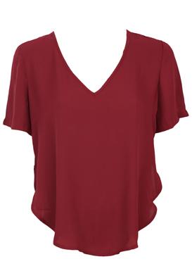 Tricou Glamorous Nastasia Dark Red