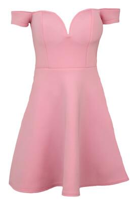 Rochie Glamorous Vanessa Light Pink