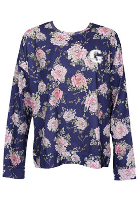 Bluza Lefties Floral Dark Blue