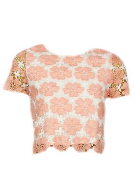Tricou Glamorous Georgia Pink