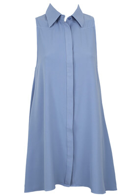 Rochie Glamorous Sabrina Light Blue