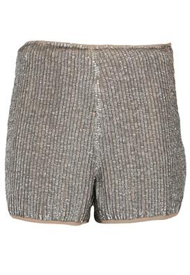 Pantaloni scurti Glamorous Francesca Silver