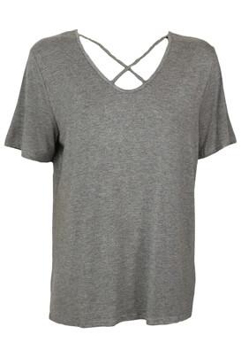 Tricou Glamorous Nikky Dark Grey