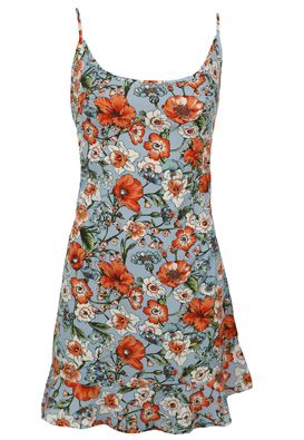 Rochie Pretty Little Thing Floral Light Blue