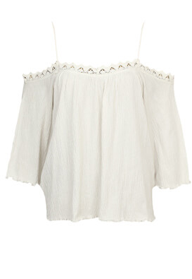 Bluza Pull and Bear Wilma White