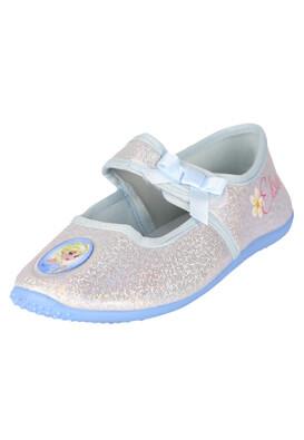 Papuci de casa Disney Elsa Light Blue