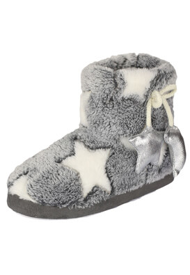 Papuci de casa Kiabi Nicole Grey