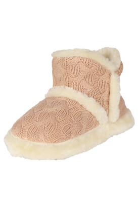 Papuci de casa Kiabi Julia Light Pink