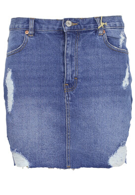 Fusta Pull and Bear Phyllis Dark Blue