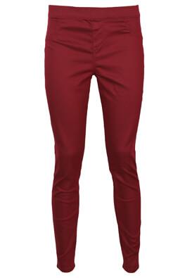 Pantaloni Lefties Pamela Dark Red