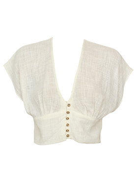 Top Pull and Bear Victoria White