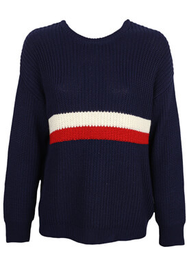 Pulover Pull and Bear Elle Dark Blue