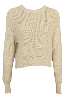 Pulover Pull and Bear Maya Light Beige