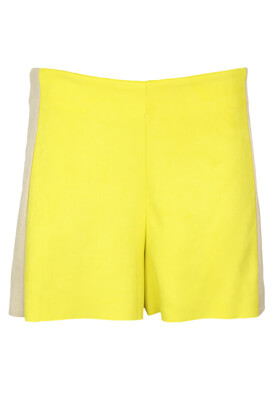 Pantaloni scurti ZARA Angela Yellow