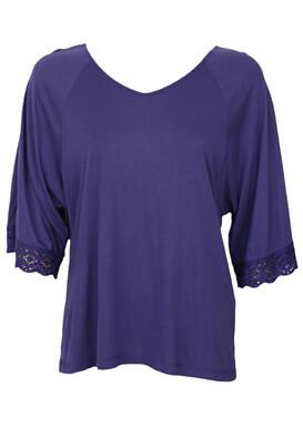 Bluza MO Inna Dark Purple