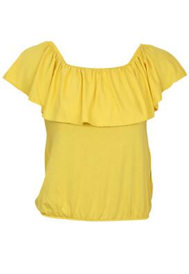 Tricou MO Charlotte Yellow