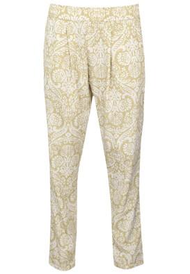 Pantaloni MO Doreen Light Beige