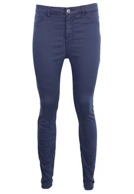 Pantaloni Pull and Bear Elisa Dark Blue