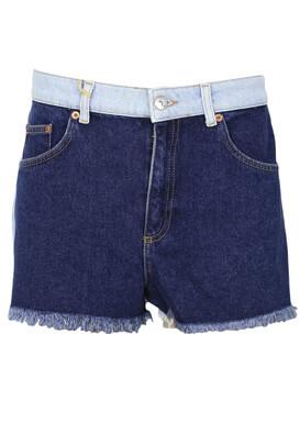 Pantaloni scurti Pull and Bear Dory Dark Blue