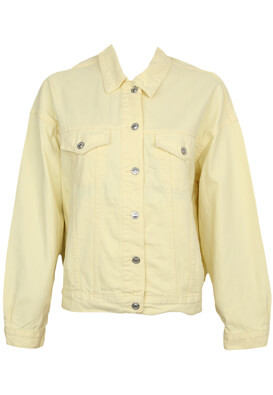 Geaca blugi Pull and Bear Dalida Light Yellow
