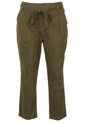 Pantaloni Lefties Nicole Dark Green
