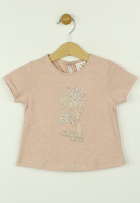 Tricou ZARA Kora Light pink