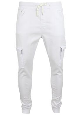 Pantaloni Terance Kole Bradley White