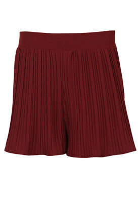 Pantaloni scurti ZARA Tara Dark Red