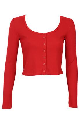 Bluza Bershka Victoria Red