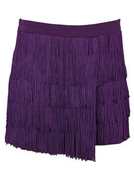 Pantaloni scurti Bershka Belinda Dark Purple