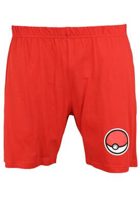 Pantaloni scurti Pokemon Paul Red