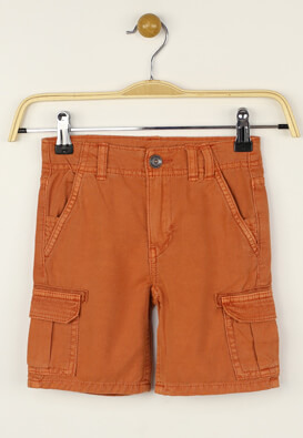 Pantaloni scurti Kiabi Kade Orange