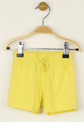 Pantaloni scurti Kiabi Elisa Yellow