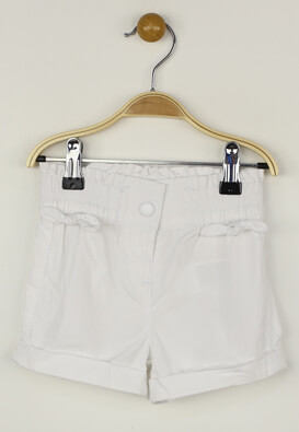 Pantaloni scurti Kiabi Alexandra White