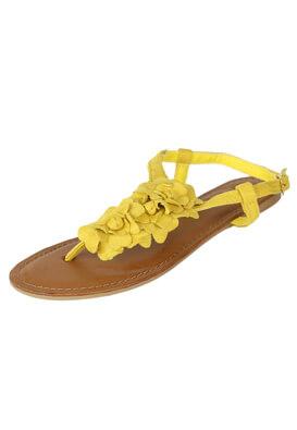 Sandale Kiabi Ramona Yellow