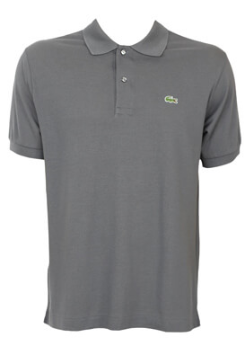 Tricou polo Lacoste Tom Dark Grey