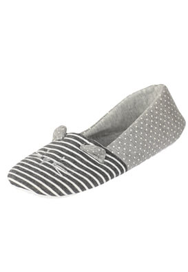 Papuci de casa Apollo Vanessa Grey