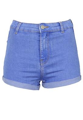Pantaloni scurti Bershka Diana Blue