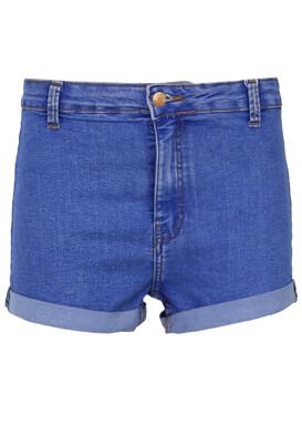 Pantaloni scurti Bershka Stella Blue