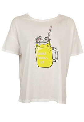Tricou Pull and Bear Carrie White