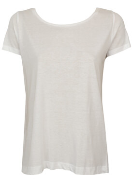 Tricou Pull and Bear Kitty White