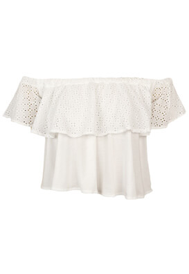 Tricou Pull and Bear Francesca White