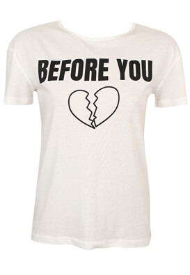 Tricou Pull and Bear Victoria White