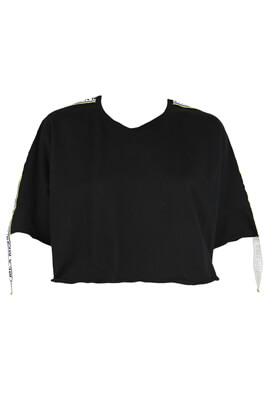 Tricou Pull and Bear Victoria Black