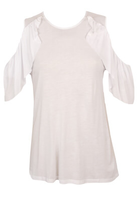 Tricou Pull and Bear Loreen White