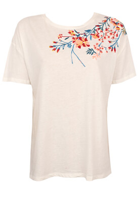 Tricou Pull and Bear Elle White