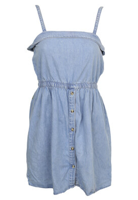 Rochie Pull and Bear Gloria Light Blue