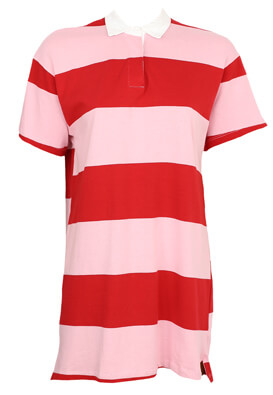 Tricou polo Pull and Bear Amanda Red