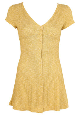 Rochie Pull and Bear Ofelia Yellow