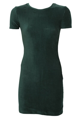Rochie Pull and Bear Adele Dark Green